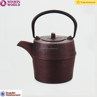900ML Metal Teapots Wholesale Japanese and Chinese Antique Metal Enamel Cast Iron Teapot