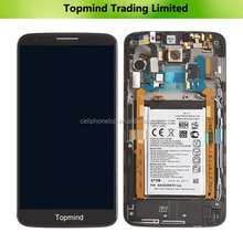 Topmind wholesale LCD for LG G2 D800 LCD Display Screen + Touch Screen Digitizer