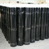 cheap roofing materials self adhesive asphalt roll waterproof material