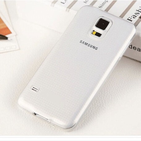 Wholesale TPU case for Samsung Galaxy S5 Case, Transparent TPU Cover Case for S5 i9600
