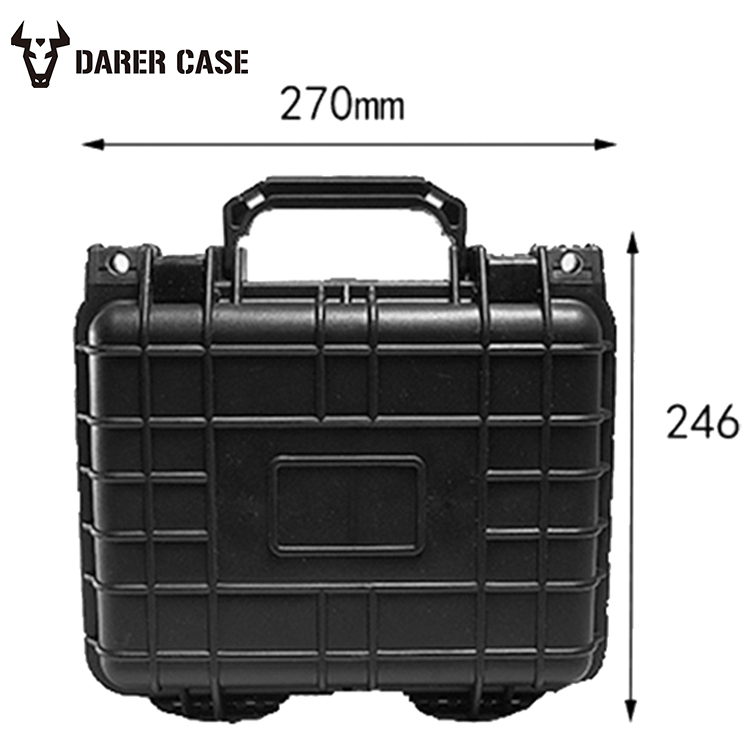 DPC028 ODM/OEM small plastic carrying case/waterproof hard plastic camera case