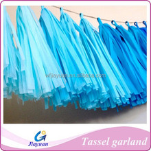 baby showers fantastic hanging tissue paper tassel garland