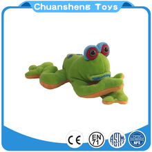 CHStoy OEM plush toy factory custom design soft green plush tree frog