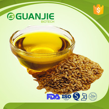 15years factory supply Bulk Organic flax seed oil with best price