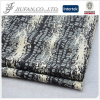 Jiufan 2015 Hot Sale Competitive Price Textile Printed Wool Peach 100% Polyester Woven Fabric
