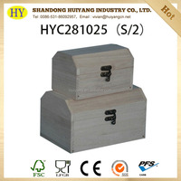 custom hinged wooden box high quality wholesale small box for storage