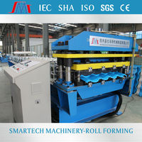 European Standard Hot Sale Step Tile roll forming machine roofing machine for Portugal