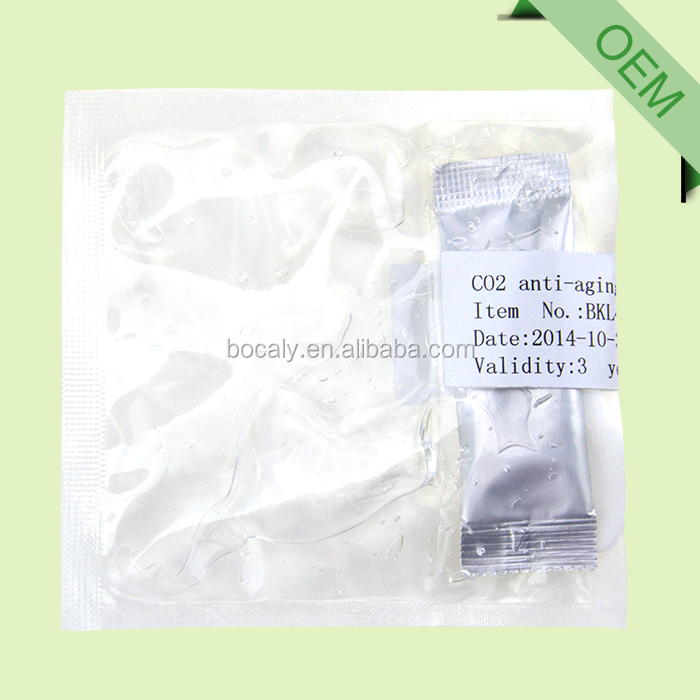 ODM/OEM/OBM skin care mask pack CO2 gel private label cosmetics