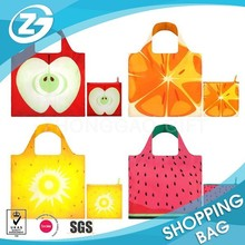 Foldable Light Weighted Polyester Shopper