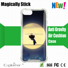 New arrivals Shenzhen wholesale phone accessory crystal clear transparent hard plastic pc case for iphone 7