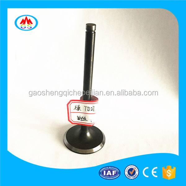 factory price engine PARTS ENGINE VALVE FOR RACING zongshen ATV SP125-D 125cc