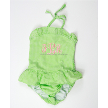 New Arrival Monogrammed Summer Baby Girls Bikini One Piece Swimsuit