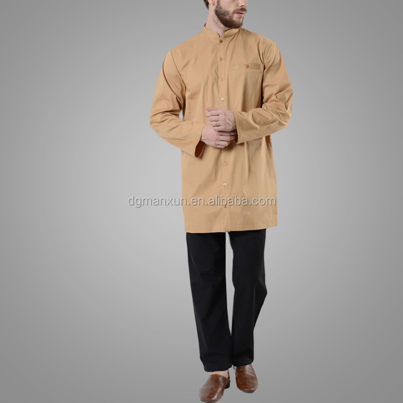 Modern Abaya Muslim Clothing Cheap Turkey Style Arab Fashion Thobe Islamic Men Abaya