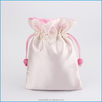 Trade assurance payment protection factory sell satin jewelry pouch bag for wedding use