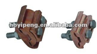 Two bolts Parallel Groove Clamps Copper