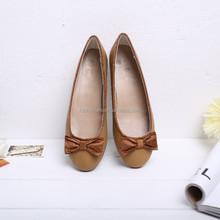 ladies comfort shoes formal office flat shoes women's basic round toe ballet flats