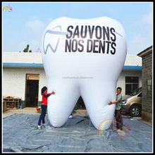 Manufacturer Cheap Price Inflatable Tooth Outdoor Promotional Advertising Tooth Model For Sale