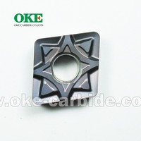 High Performance ISO Turning Carbide Insert with powerful chip breaker for Stainless Steel CNMG120412-MF/CNMG433-MF