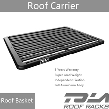 Top Aluminum Black Roof Rack Cargo Luggage Carrier Basket Universal Fit
