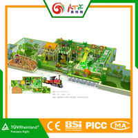 Different design outdoor wooden playhouse/gorilla playsets in factory