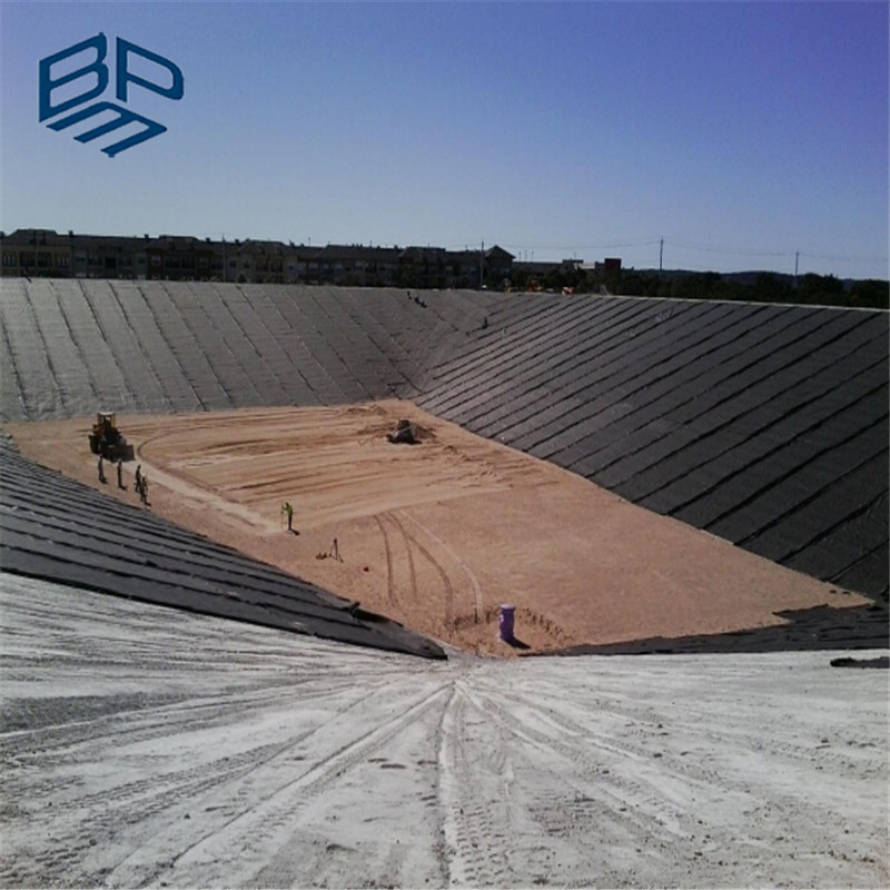 Heap Leaching Gold or Mining Liner 2mm Smooth Geomembrane Black for Mining