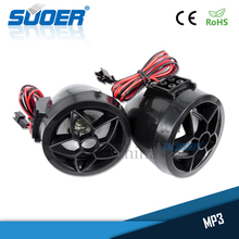 Suoer High quality motorcycle mp3 audio anti-theft alarm system