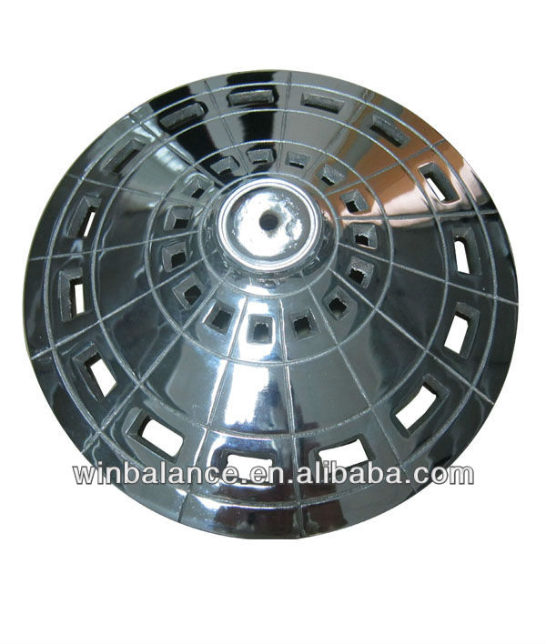 Cast Iron Round Chrome Table Bases