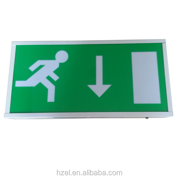 Ceiling Mounted Industrial Emergency Led Light Exit Sign