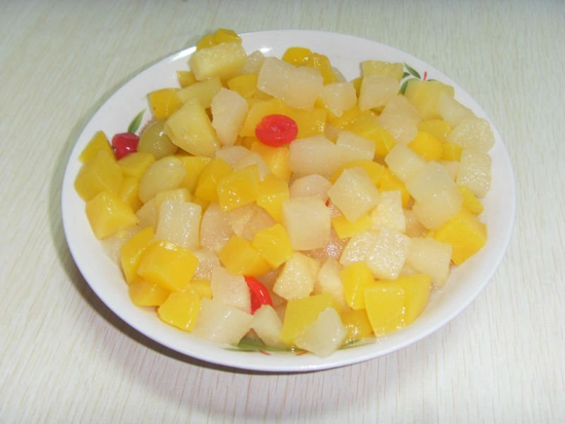 2016 china canned assorted fruits with top quality and best price