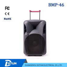 PA super bass rechargeable portable trolley bluetooth speaker