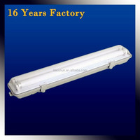 High quality wall mounted fluorescent light, T8 IP65 water-proof light manufacturer
