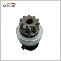 Truck engine starter drive gear