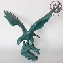aluminum eagle statue for garden decoration