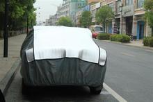 Aluminum film + EPE & non-woven padded cooton car cover for hail protection at factory price