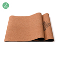 private label sublimation cool custom eco friendly cork yoga mat
