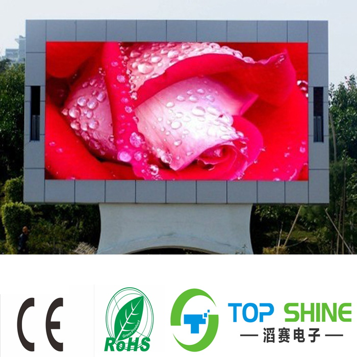Outdoor advertising message xxxxx video high quality p10 led screen waterproof IP65 led SMD p10 display module led panel board