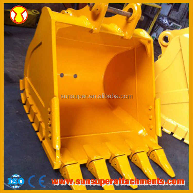 Latest Technology Hydraulic Grapple Bucket For Excavator