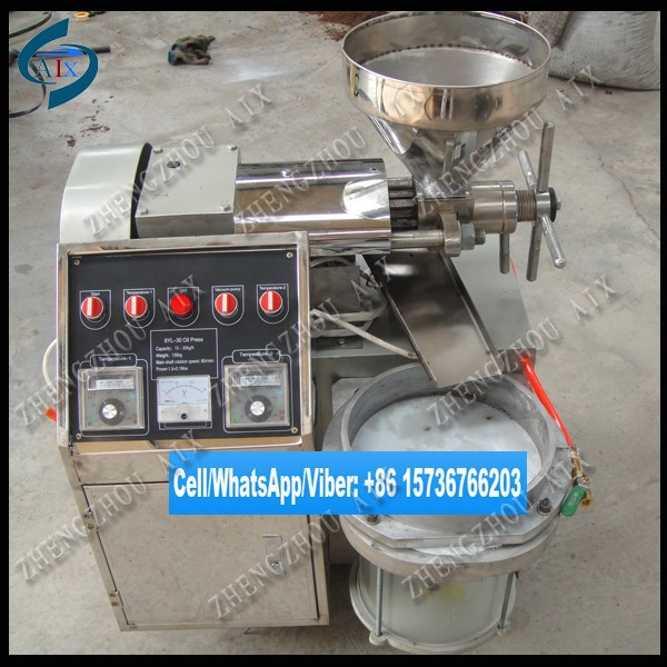 Digital control palm oil press machine/sunflower oil press/sesame oil press for sale