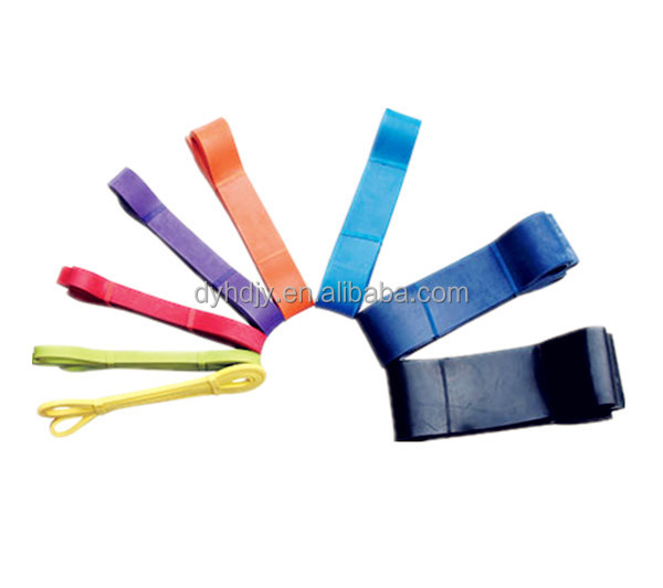 Latex stretching band,resistance band, pull up assist crossfit bands