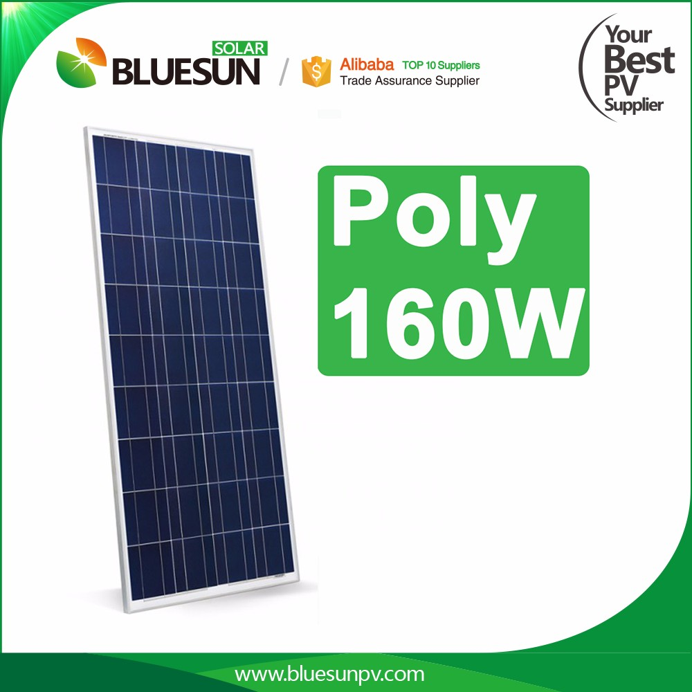 Polycrystalline 160w solar panel price for small house