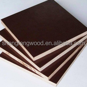 15mm Poplar xuzhou factory plastic formwork Cheap Construction Materials plywood cheap finger joint