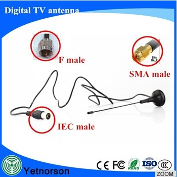 best OEM indoor tv antenna UHF VHF Magnetic base indoor digital tv antenna car tv antenna