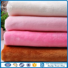 wholesale polyester knitting flannel fleece fabric
