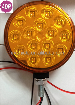 10x5cm LED double face lamp Stop / Tail / Turn light for truck trailer