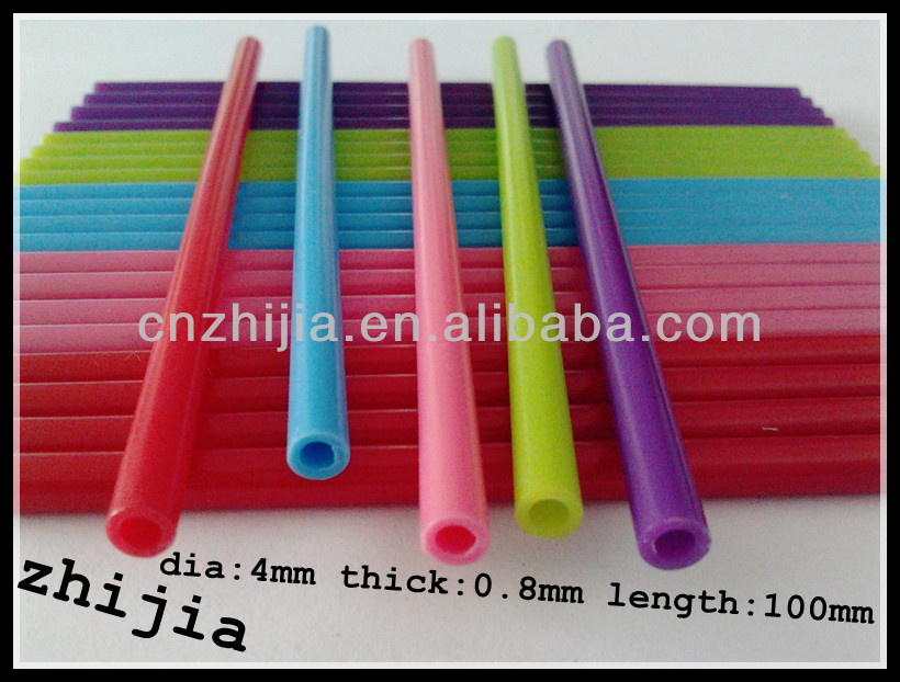 4X100MM colorful plastic stick lollipop candy in bulk