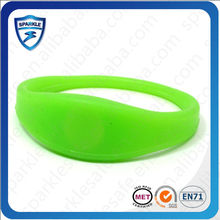 RFID Printed or Debossed 1 inch silicone wristbands