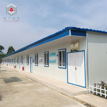 China multi stores prefabricated homes-concrete home modular home steel
