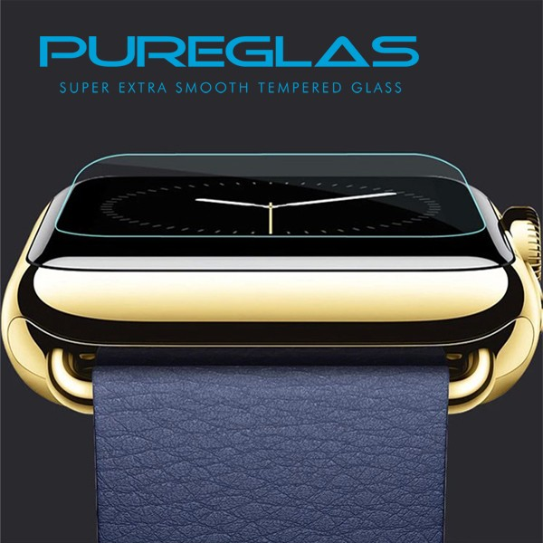Fingerprint proof watch screen protector,waterproof touch screen film for apple watch tempered glass screen protector