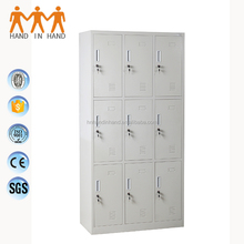 9 door metal iron wardrobe steel school locker for sale