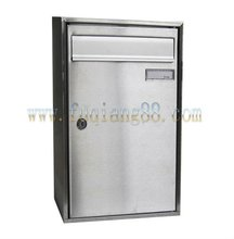 stainless steel mailbox, letterbox, postbox